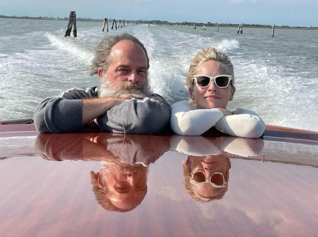 Sharon Stone a Venezia per Dolce&Gabbana