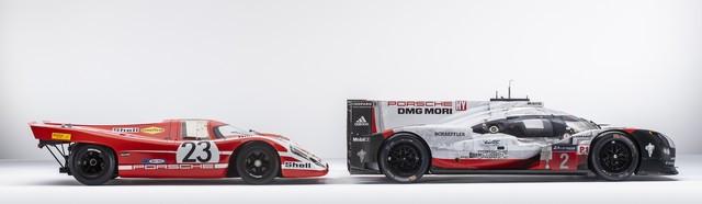 Porsche réuni six prototypes vainqueurs au classement général au Mans S20-4247-fine