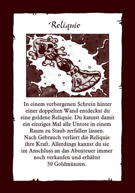 Schatz-Reliquie