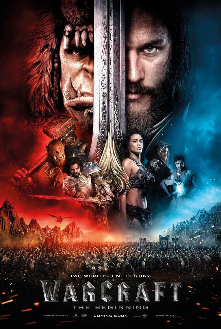Warcraft 2016 Hindi Dual Audio 720p BluRay ESubs 1GB | 450MB Download
