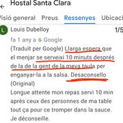 Hostal-Santa-Clara-Estartit-Avis