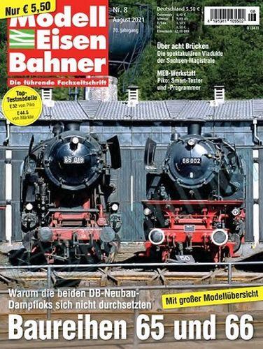 Cover: Modelleisenbahner Magazin für Vorbild und Modell No 06, 07, 08 2021