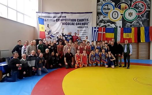 GrRom.MD 2019 * Wrestling Competition Cadets - Nicolae Grehov