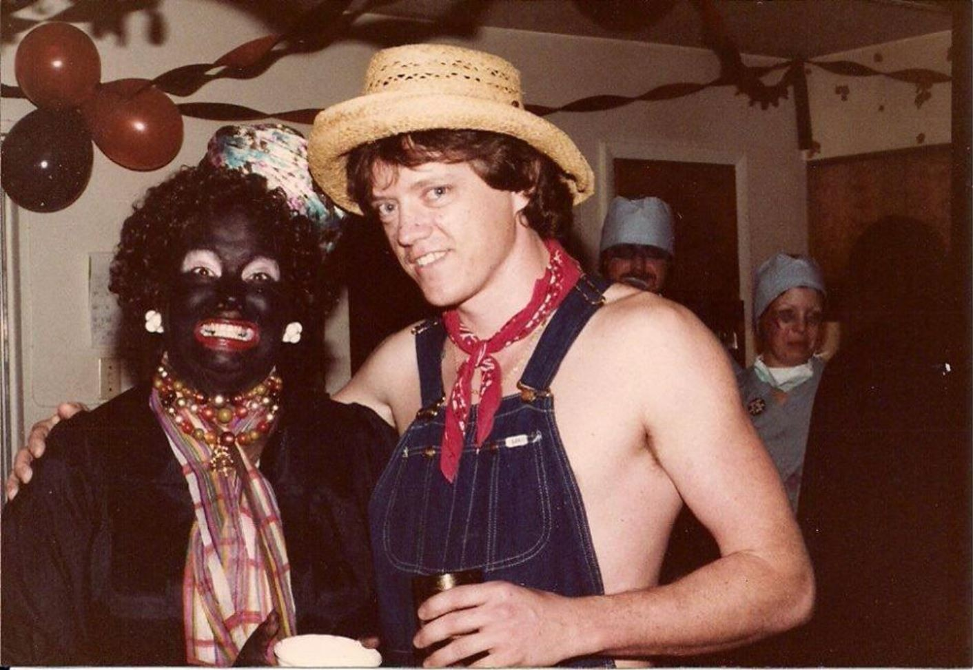 Almost always the same story Blackface