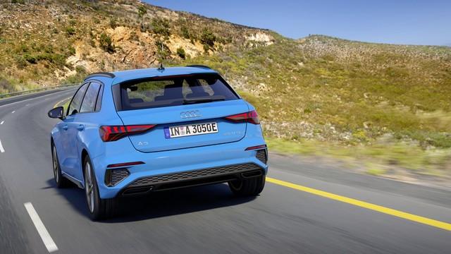 Conduisez jusqu'à 67 km en utilisant l'énergie électrique : La nouvelle Audi A3 Sportback 40 TFSI e A206521-medium