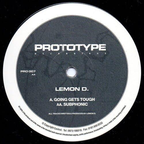 Download Lemon D - Going Gets Tough / Subphonic mp3