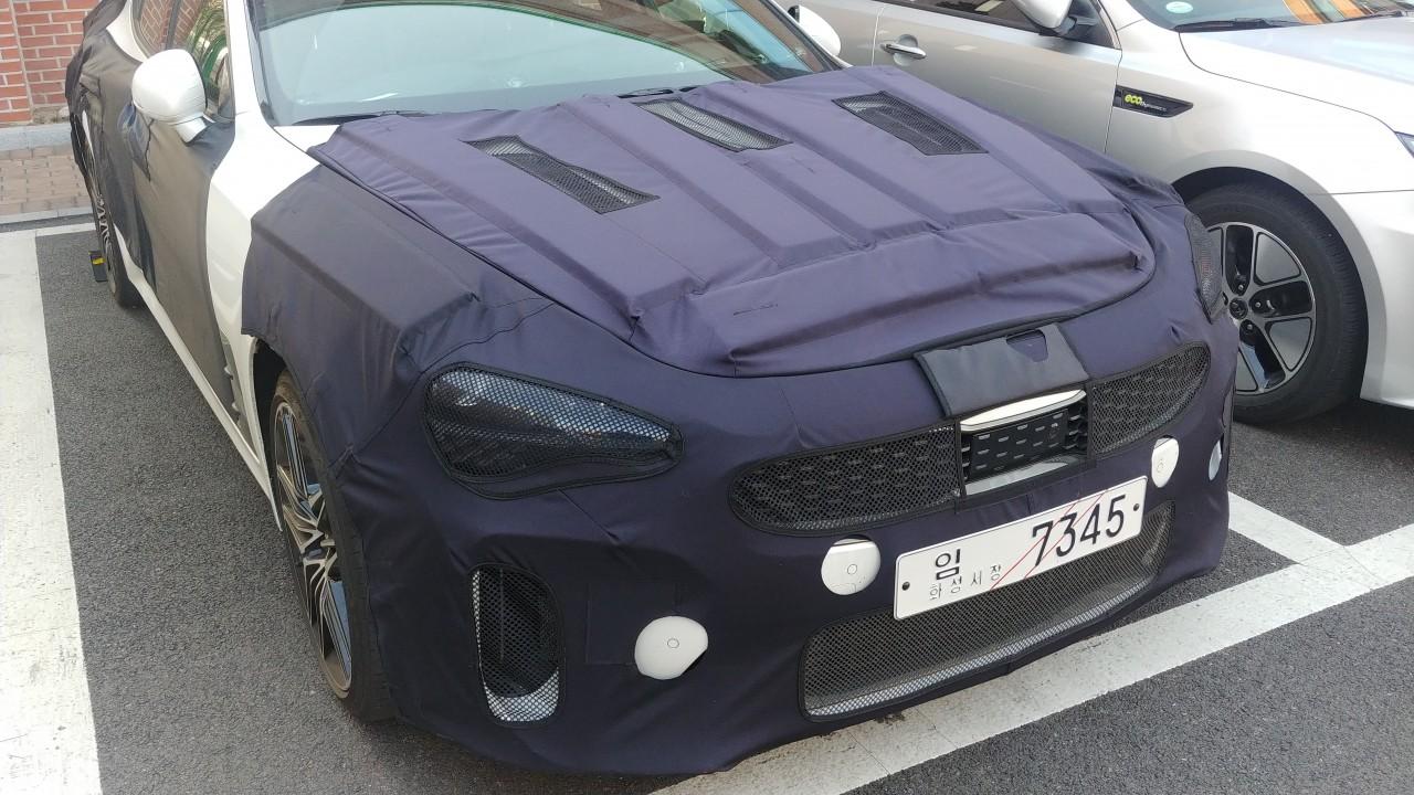 2020 Kia Stinger Facelift 71
