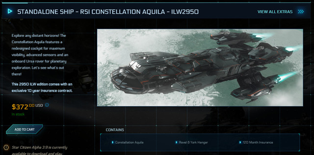STANDALONE-SHIP-RSI-CONSTELLATION-AQUILA-ILW2950