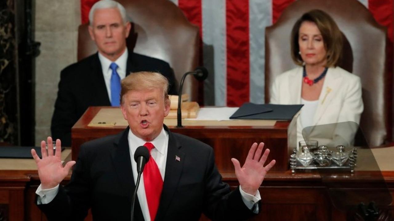 Donald Trump se pronuncia frente al Congreso de EEUU en su segundo discurso del Estado de la Unión
