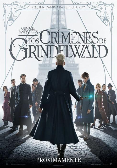 Animales Fantásticos: Los Crímenes de Grindelwald (2018)[BR-Screener 1080p][Castellano MIC][Fantástico][VS]