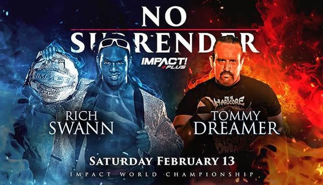 Rich Swann contra Tommy Dreamer Impact No Surrender 2021 Impact 26 enero