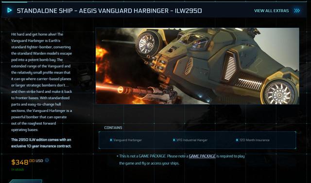 STANDALONE-SHIP-AEGIS-VANGUARD-HARBINGER-ILW2950