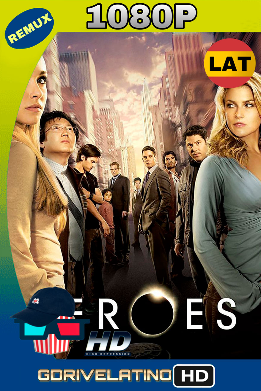 Héroes (2006-2009) Temp. 01-04 REMUX 1080p Latino-Ingles MKV