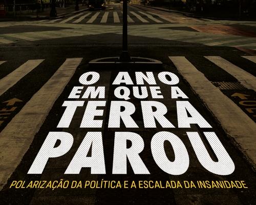 """A @FaroEditorial lança este mês """"O ano que a Terra parou"""", do jornalista Luciano Trigo"""