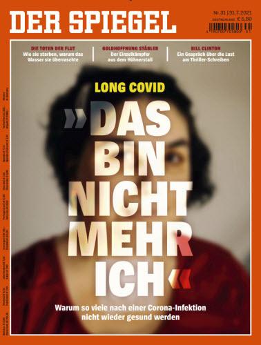 Cover: Der Spiegel Nachrichtenmagazin No 31 vom 31  Juli 2021