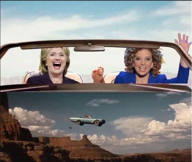 Hillary and Wasserman