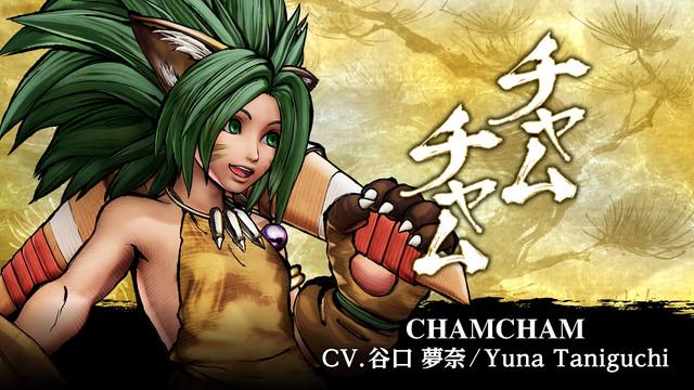 劍戟對戰格鬥遊戲《SAMURAI SHODOWN》季票3 DLC角色第一彈「查姆查姆」於3月16日上線! 來自人氣格鬥遊戲系列《GUILTY GEAR》的角色決定參戰! Samurai-Shodown-2021-02-21-21-001
