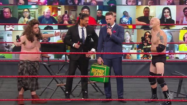 Miz y Morrison se burlan con Gillberg y Drew RAW 18 enero
