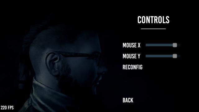 8 Options Controls