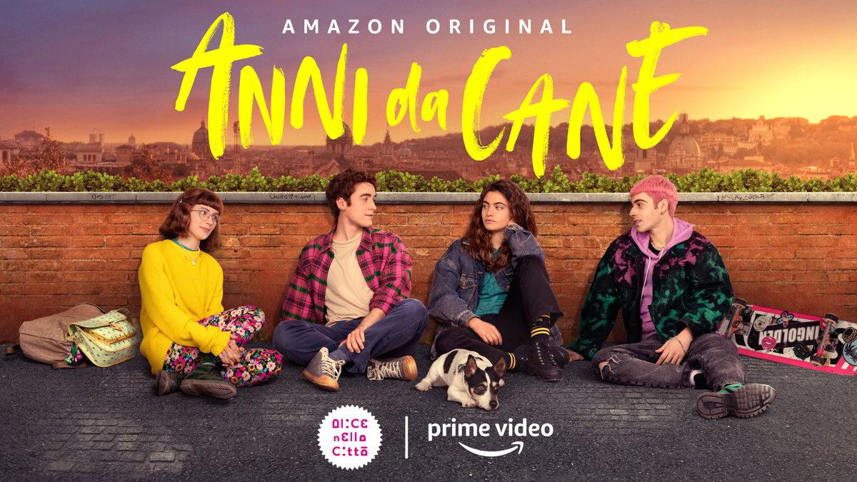 """""""Anni da cane"""" dal 22 ottobre su Prime Video. Trailer ufficiale con un brano inedito di Achille Lauro"""