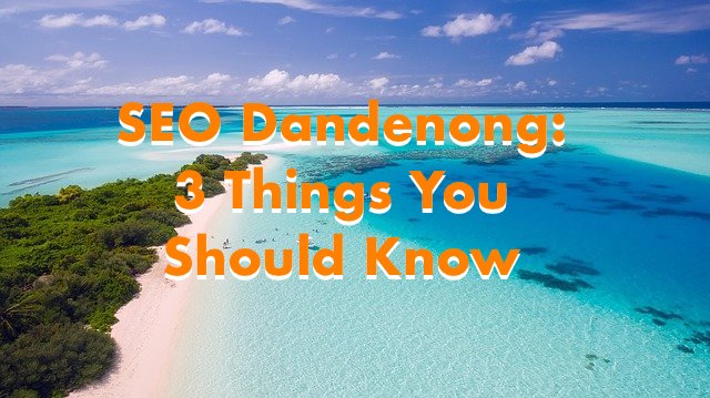 cover image for SEO Dandenong