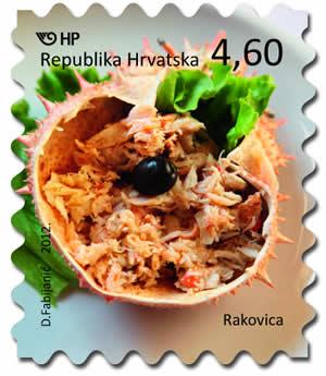 2012. year HRVATSKA-GASTRONOMIJA-RAKOVICA
