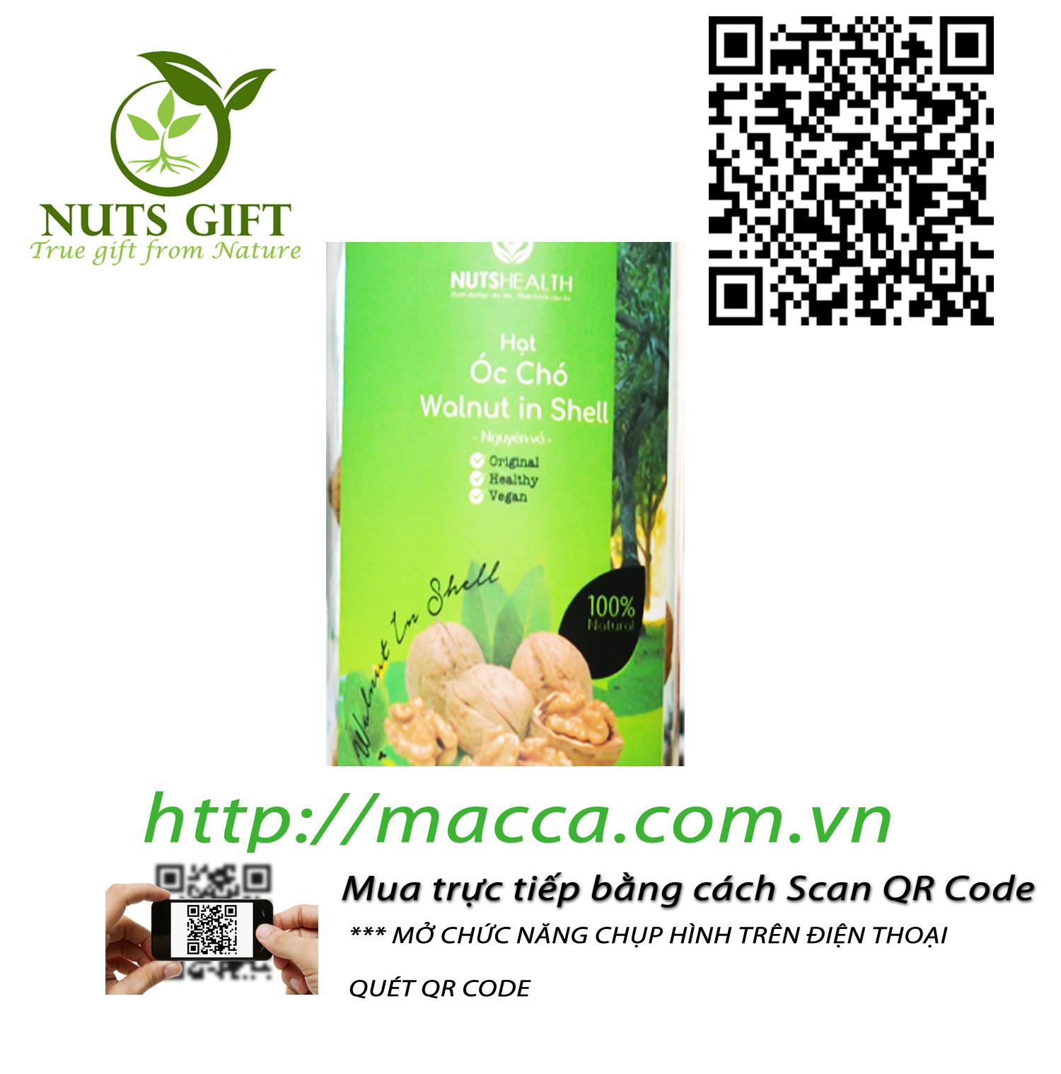 Quả Óc Chó – Nutshealth – 200Gr