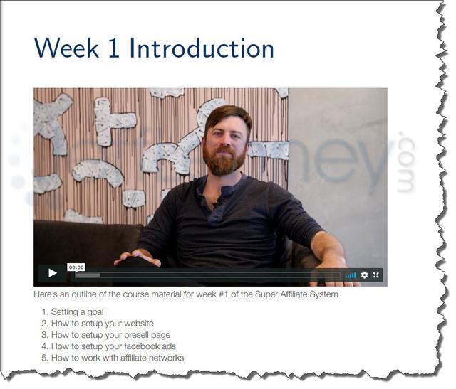super-affiliate-system-week-1