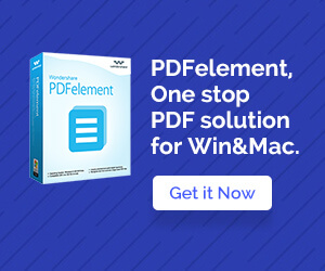 PDFelement, All in One PDF Solution, Create, Secure, Collaborate, Edit, Organize, Sign, OCR, and mor
