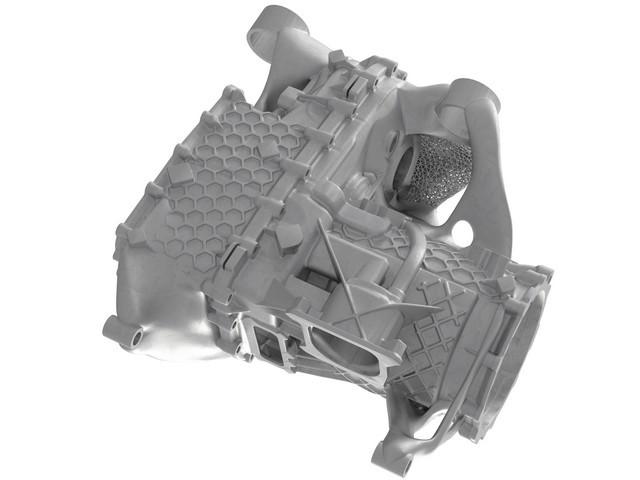 Prototype pour petites séries: boîtier E-drive de l'imprimante 3D S20-5724-fine
