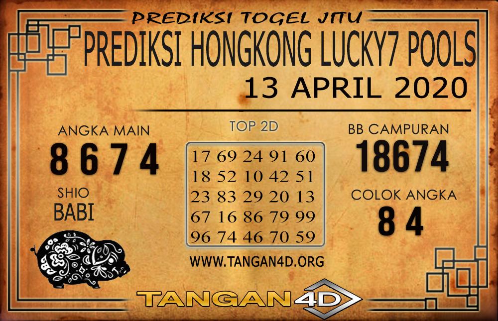 PREDIKSI TOGEL HONGKONG LUCKY 7 TANGAN4D 13 APRIL 2020