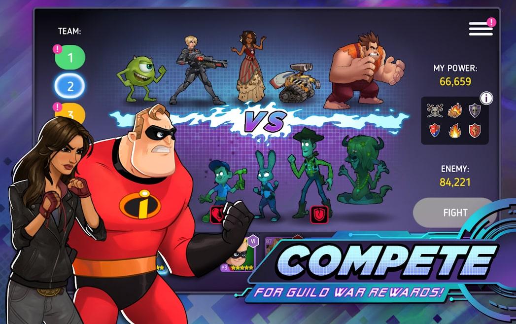 Disney Heroes: Battle Mode 6
