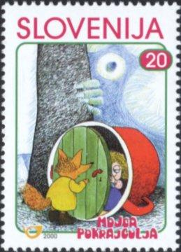Slovenia stamps CHILD-S-BOOK-FIGURE-MOJCA