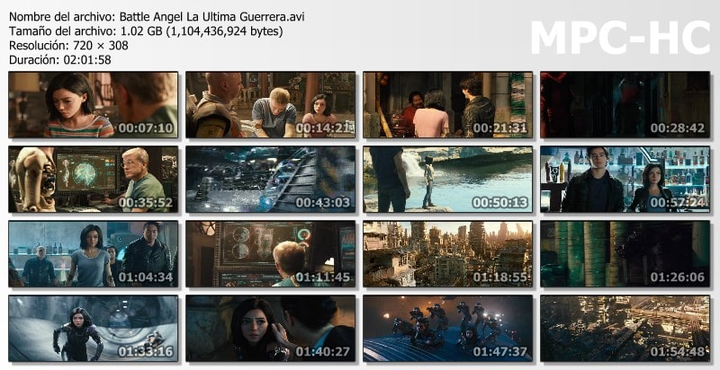 Battle Angel: La Última Guerrera Capturas