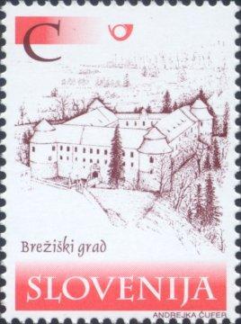 Slovenia stamps CASTLES-BRE-I-KI-GRAD