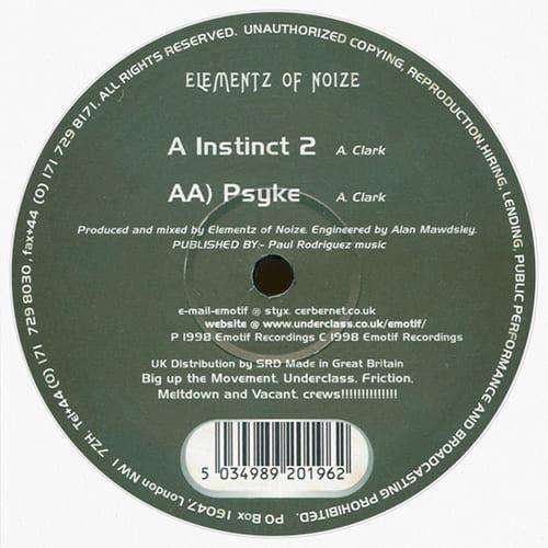 Download Elementz Of Noize - Instinct 2 / Psyke mp3