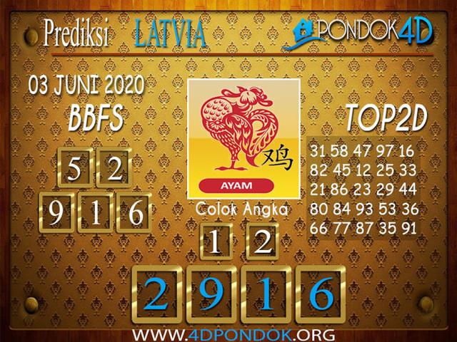 Prediksi Togel LATVIA POOLS PONDOK4D 03 JUNI 2020