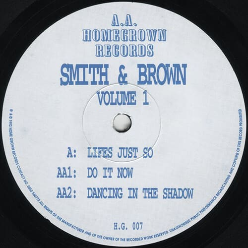 Smith & Brown - Volume 1
