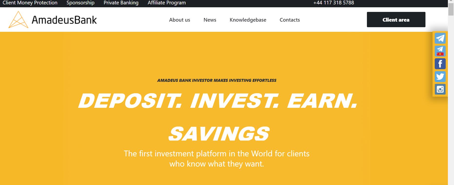 amadeusbank.com reviews