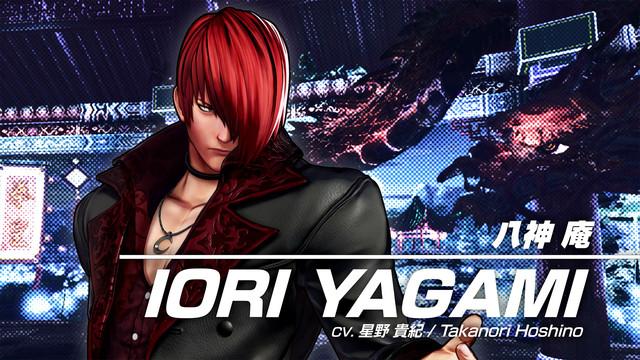 格鬥之王XV Iori Yagami預告片,截圖 The-King-of-Fighters-XV-2021-02-03-21-001