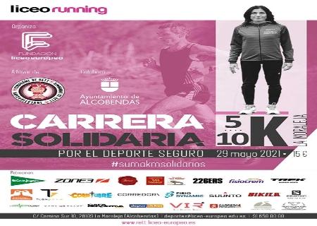 La I edición de la Carrera Solidaria por el Deporte Seguro tendrá lugar el 29 de Mayo