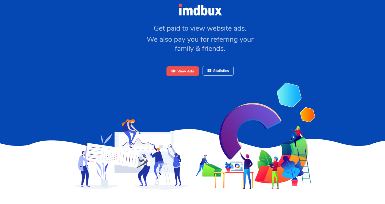 Review of imdbux.com Is imdbux.com scam or paying?