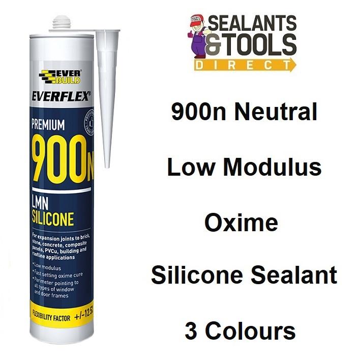 Everbuild-900n-Premium-Oxime-silicone-sealant-box-25