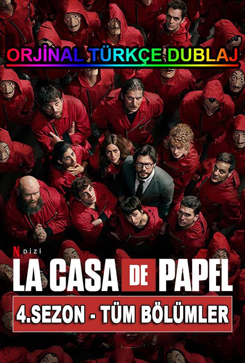 La Casa de Papel | 2020 | NF | 4.Sezon | Tüm Bölümler | WEB-DL | XviD | Türkçe Dublaj | m720p - m1080p | WEB-DL | Dual | TR-EN | Tek Link