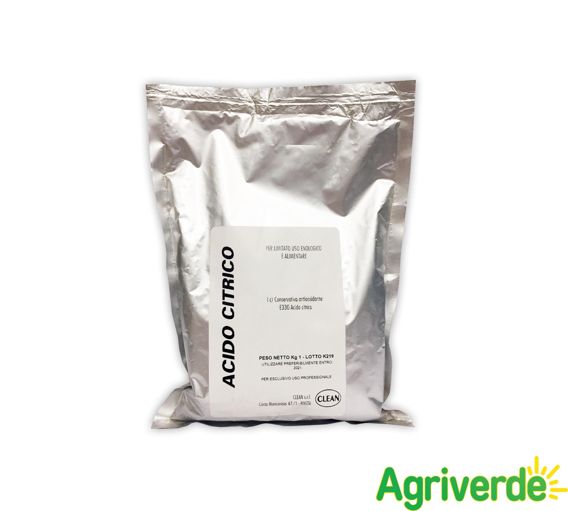 Acido Citrico Dosi Alimentari acido citrico uso enologico ed alimentare 1 kg - clean | ebay
