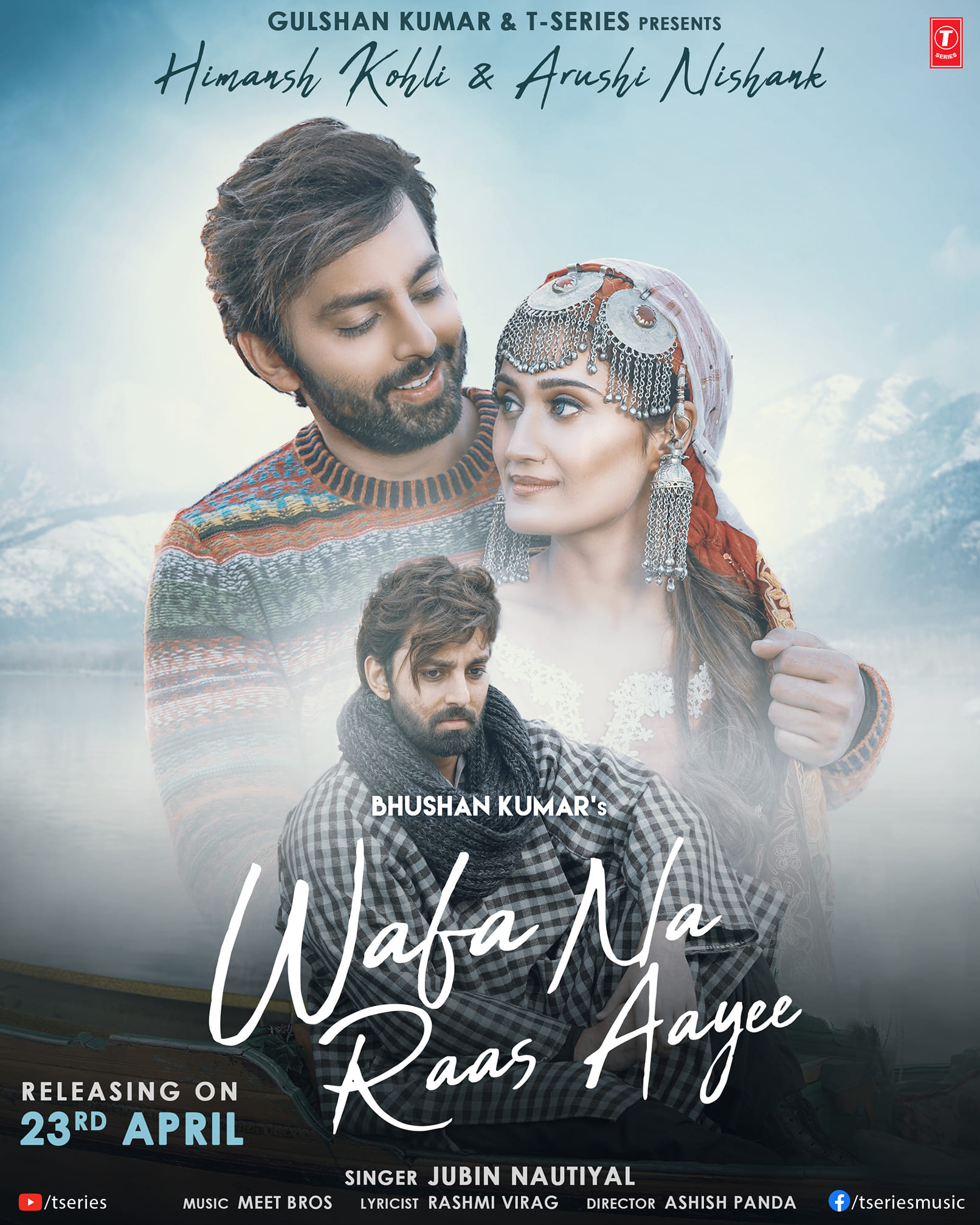 Wafa Na Raas Aayee By Jubin Nautiyal Official Music Video (2021) HD