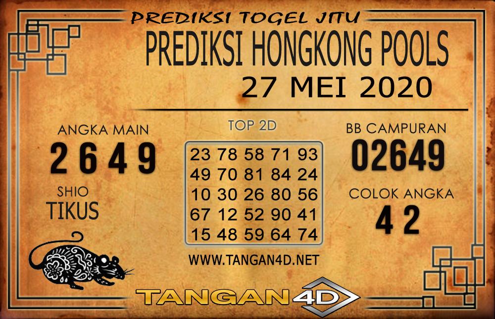 PREDIKSI TOGEL HONGKONG TANGAN4D 27 MEI 2020