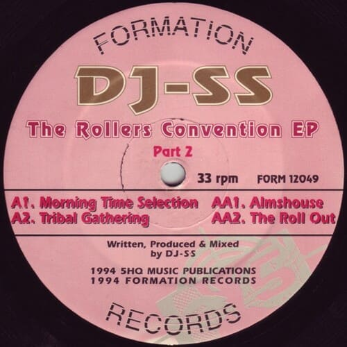 Download DJ SS - The Rollers Convention EP Part 2 mp3