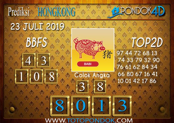 Prediksi Togel HONGKONG PONDOK4D 23 JULI 2019
