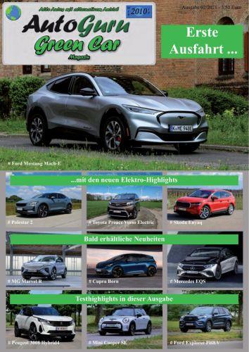 Cover: AutoGuru Greencar Magazin No 02 2021